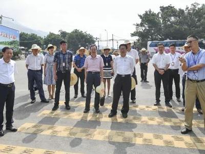 省林业局领导班子现场办公,推进福州植物园改造提升工作