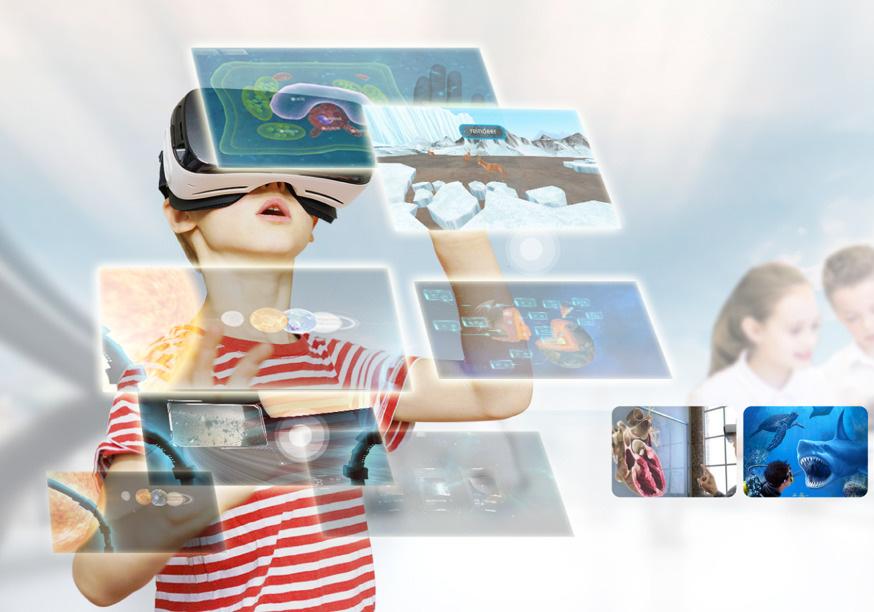 3D及VR资源教学更有新意