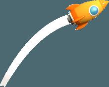 VR素材-火箭