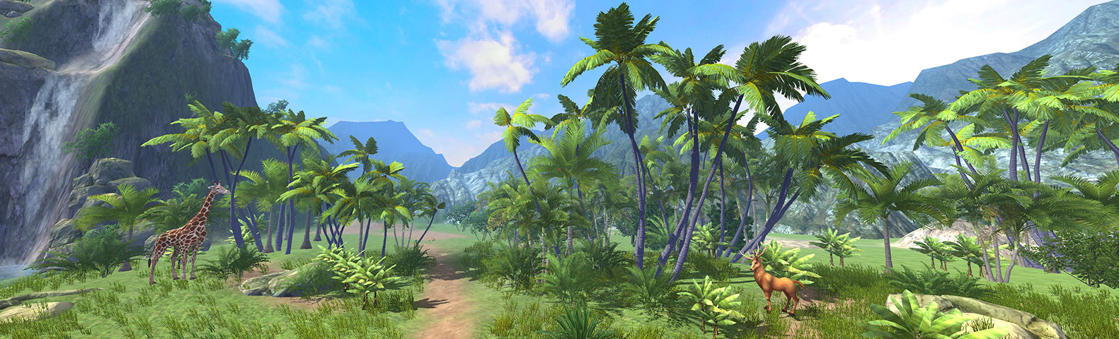 VR软件 自然环境