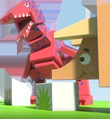VR素材-恐龙